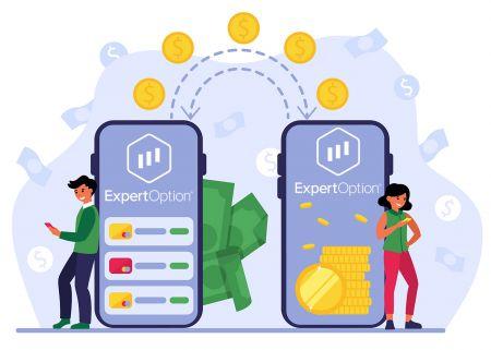 Как внести деньги в ExpertOption