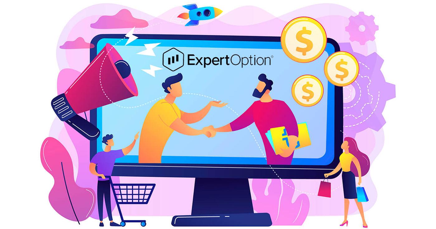 Как присоединиться к партнерской программе и стать партнером в ExpertOption