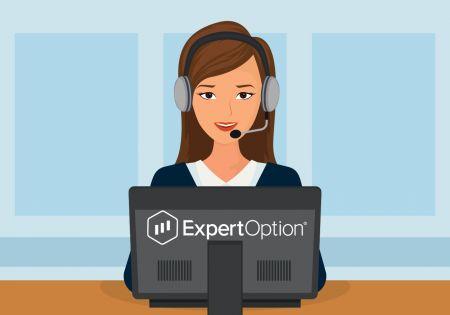 Как связаться со службой поддержки ExpertOption