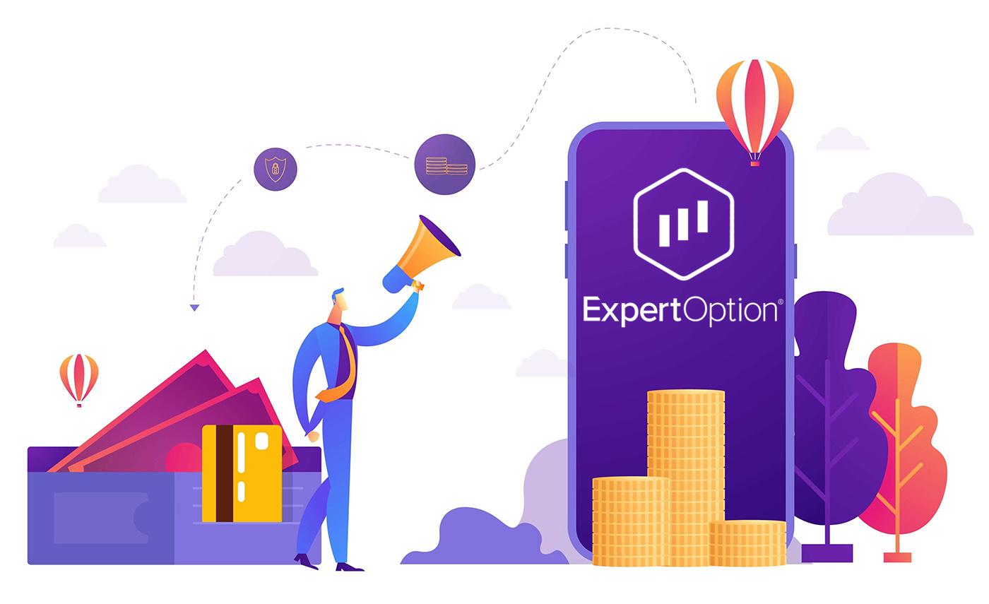 Как открыть счет и вывести деньги на ExpertOption