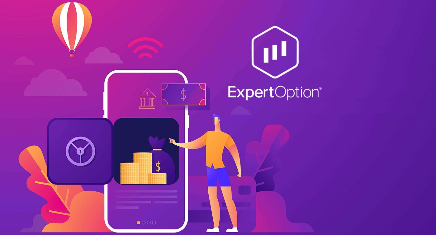 Как вывести и внести деньги в ExpertOption