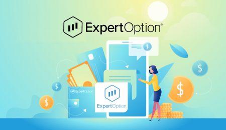 Как открыть счет и внести деньги на ExpertOption