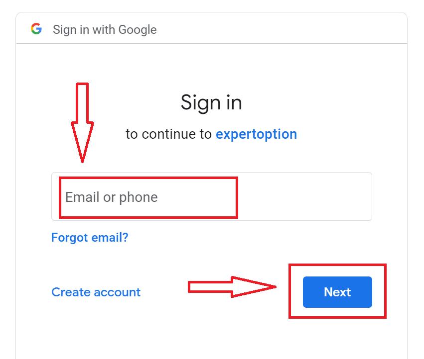 Как открыть счет и войти в ExpertOption
