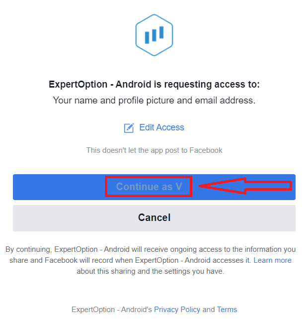 Как зарегистрировать и подтвердить учетную запись в ExpertOption